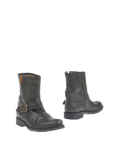 Fiorentini + Baker Ankle Boots In Dark Green