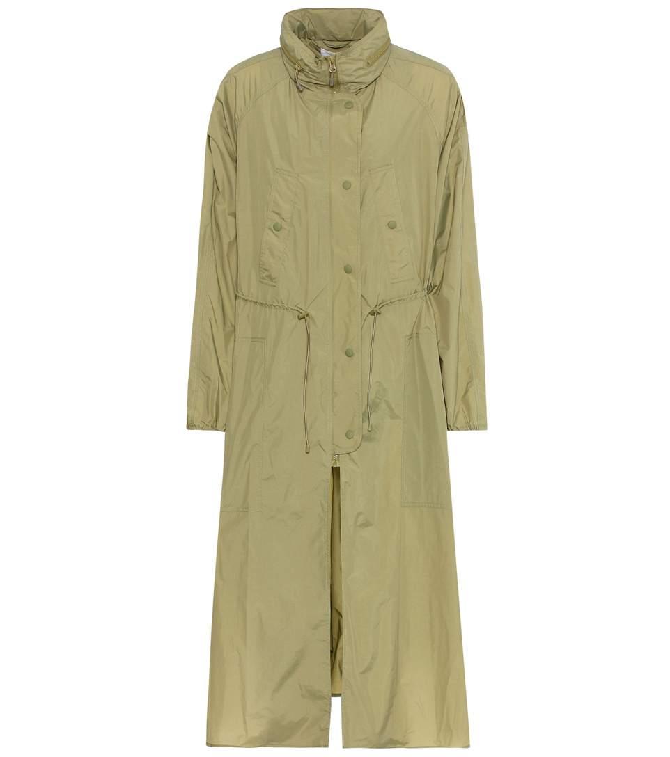 Etoile Isabel Marant Copal Coat In Khaki