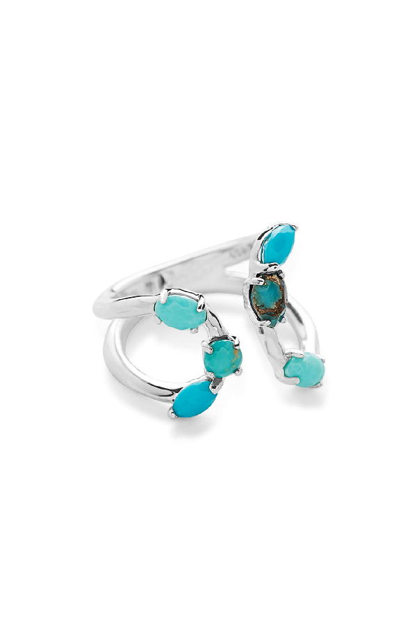 Ippolita Rock Candy Bypass Ring In Turquoise
