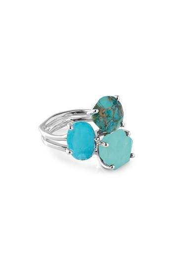 Ippolita Rock Candy Semiprecious Stone Ring In Turquoise