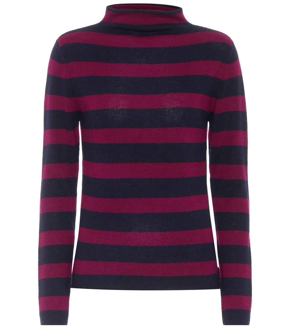 81 Hours Carmen Cashmere Turtleneck Sweater In Comlo