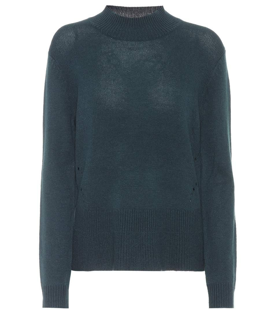 81 Hours Hila Wool And Cashmere Sweater In Blue