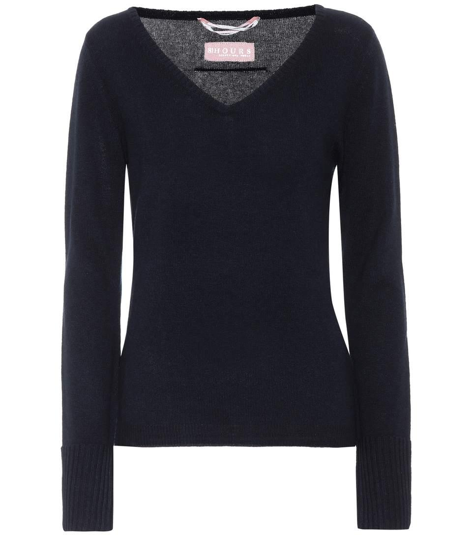 81 Hours Cabin Cashmere Sweater In Blue