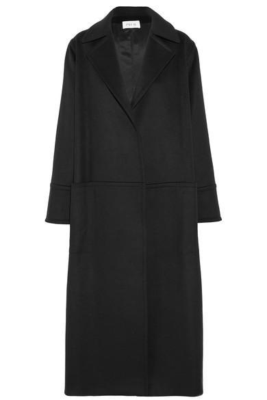 Pallas Belted Wool-blend Coat