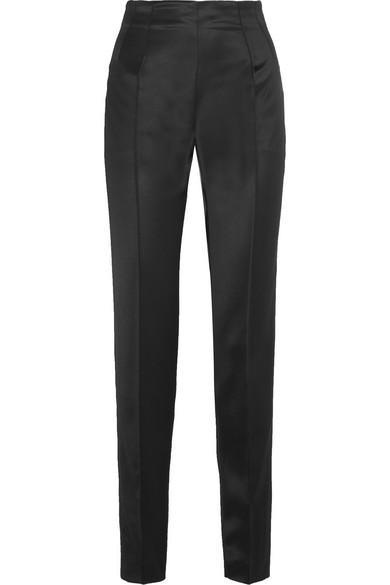 Pallas Satin Slim-leg Pants