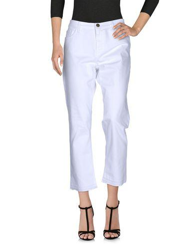 Current Elliott Denim Pants In White