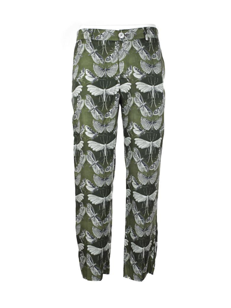 F.r.s For Restless Sleepers Boyfriend Pajama Pants In Green