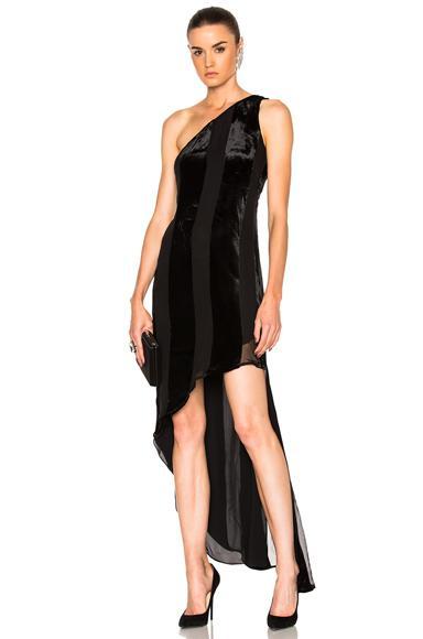 Haney Blanca Dress In Black