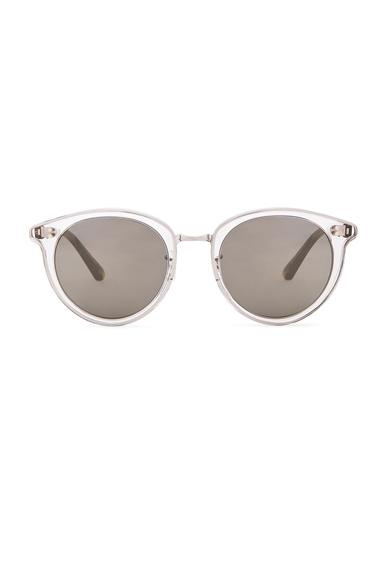 Oliver Peoples Dore Sunglasses In Animal Print,white