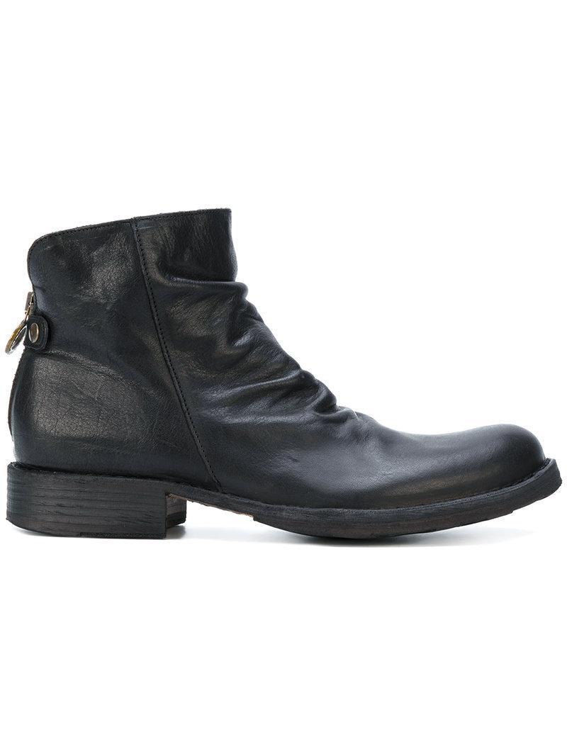 Fiorentini + Baker Fiorentini+baker Women's  Blue Leather Ankle Boots In Black