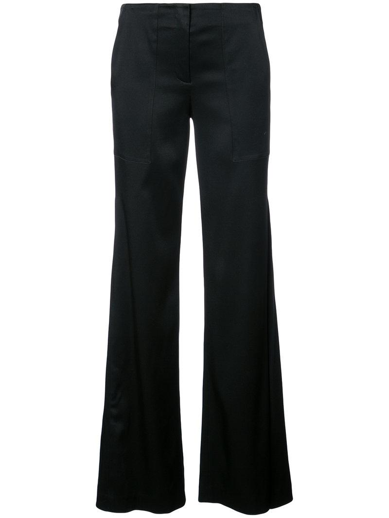 Hellessy Patton Flare Pants In Black