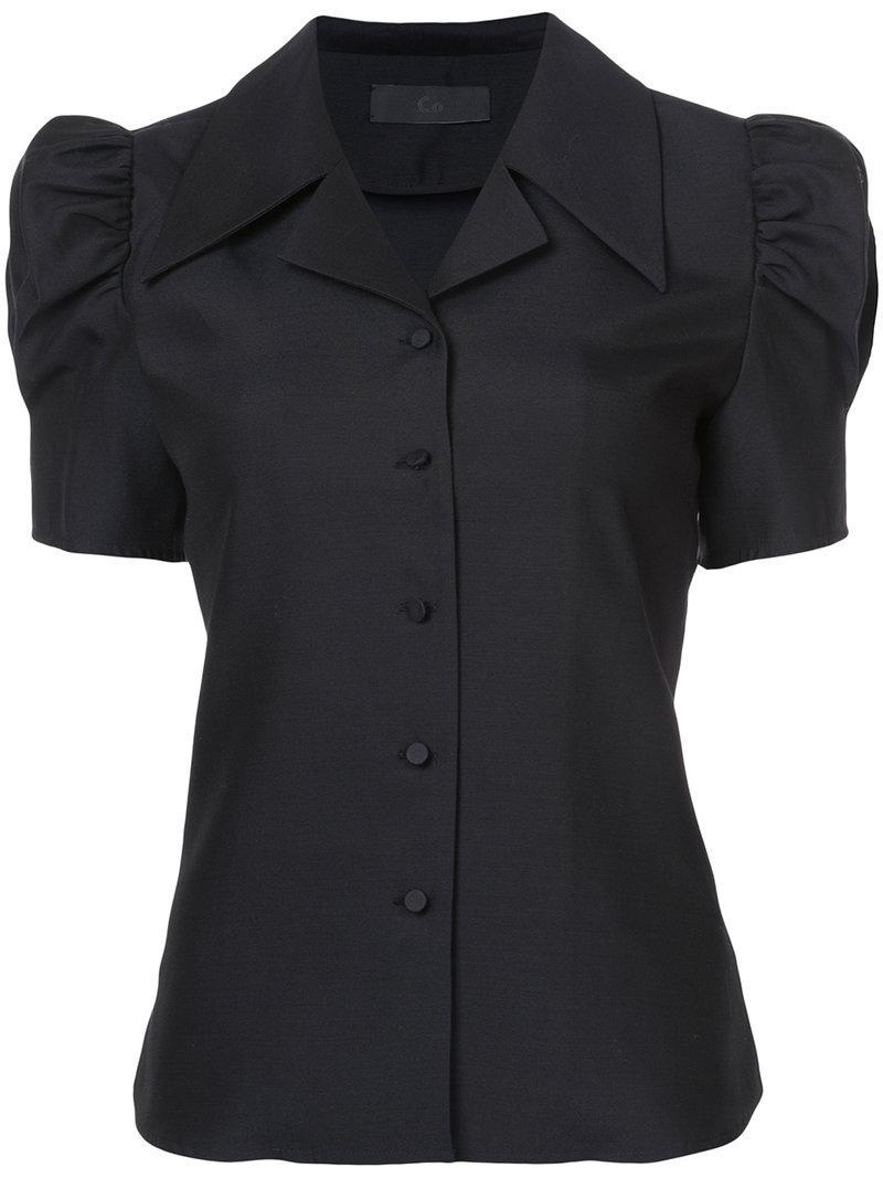Co Shortsleeved Shirt In Black