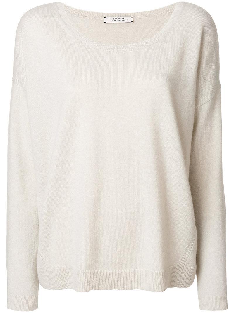 Dorothee Schumacher Oversized Drop Shoulder Sweater