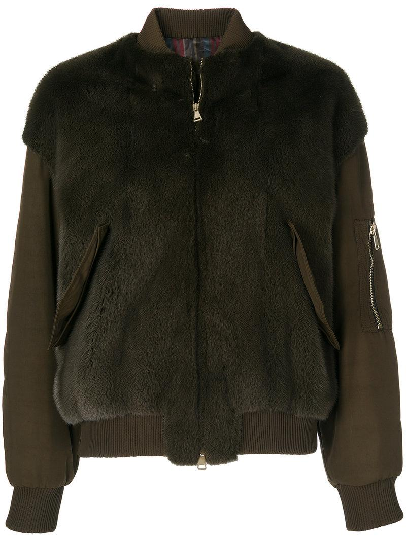 Blancha Contrast Bomber