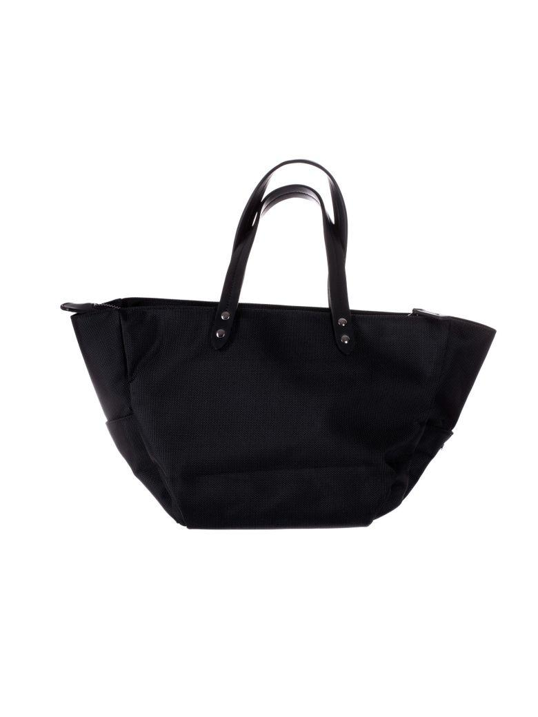 Woolrich Top Handle Small Tote In Black