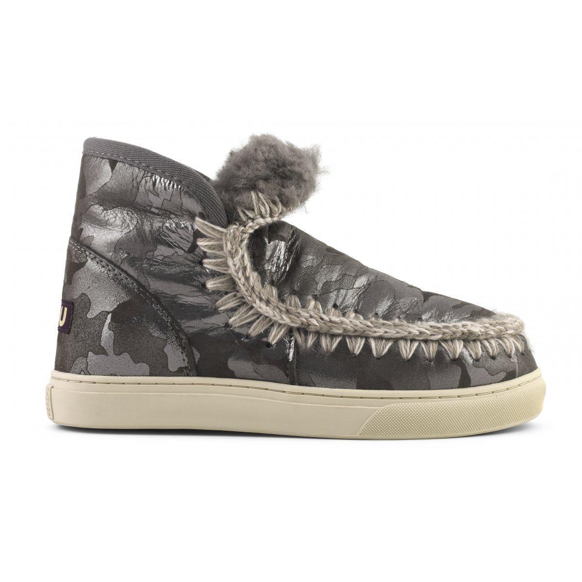 Mou Mini Eskimo Sneaker In Camsil