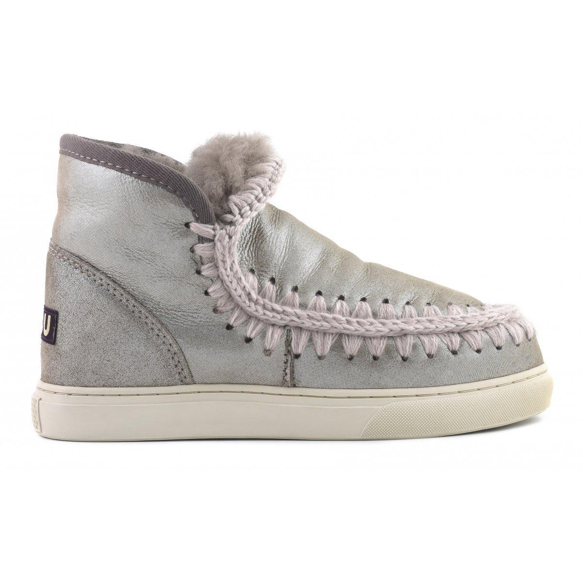 Mou Mini Eskimo Sneaker In Mgegry