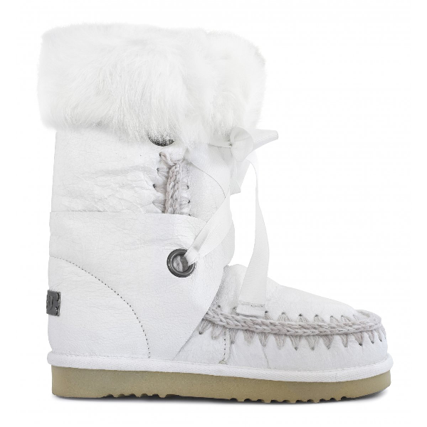 Mou Eskimo Lace And Fur In Wxwhi