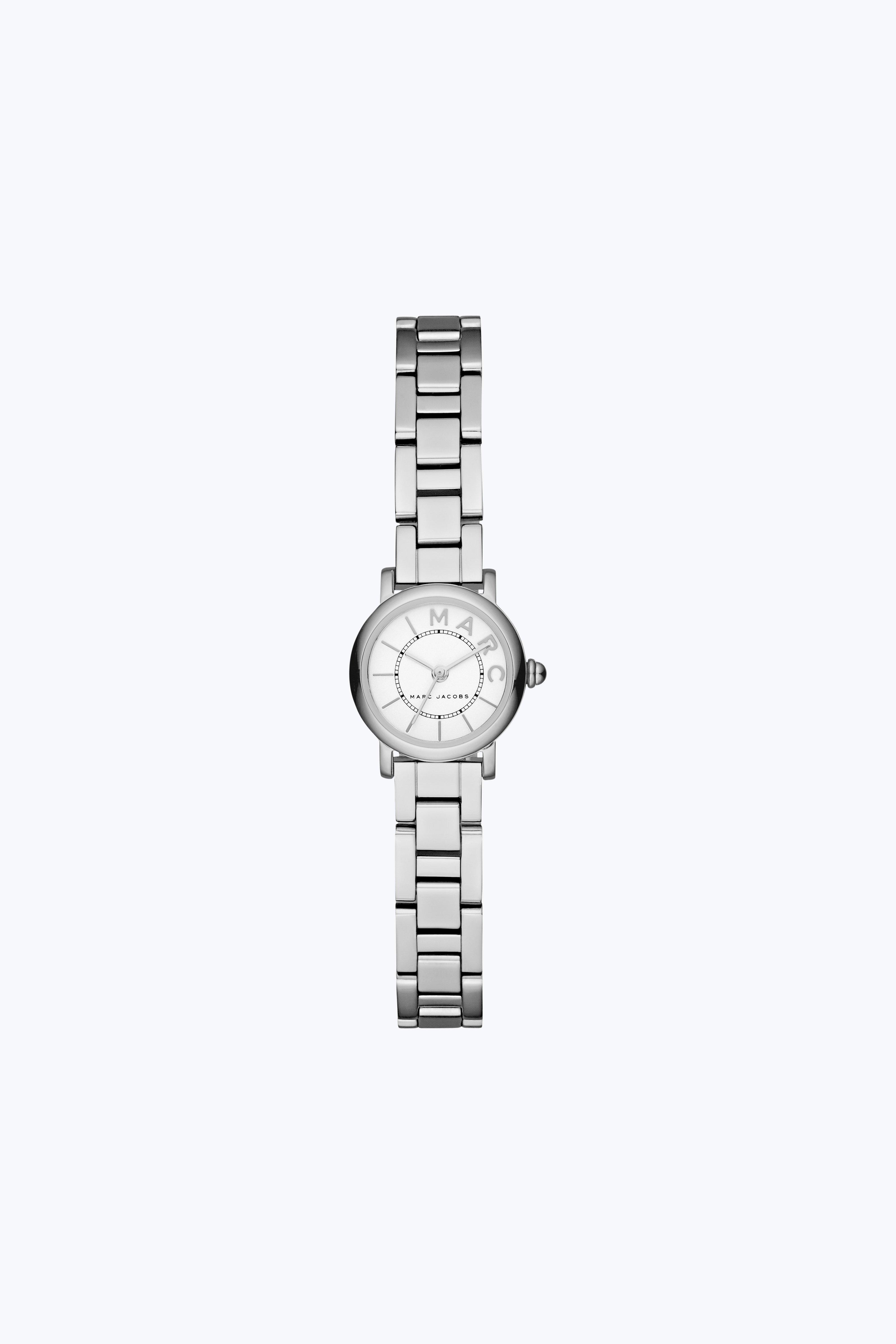 Marc Jacobs The  Classic Watch 20mm In Stainless/white