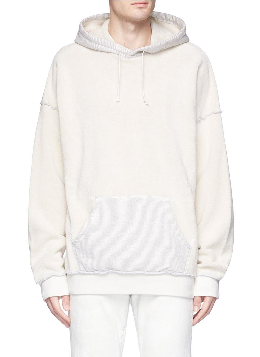 Maison Margiela Reverse French Terry Hoodie