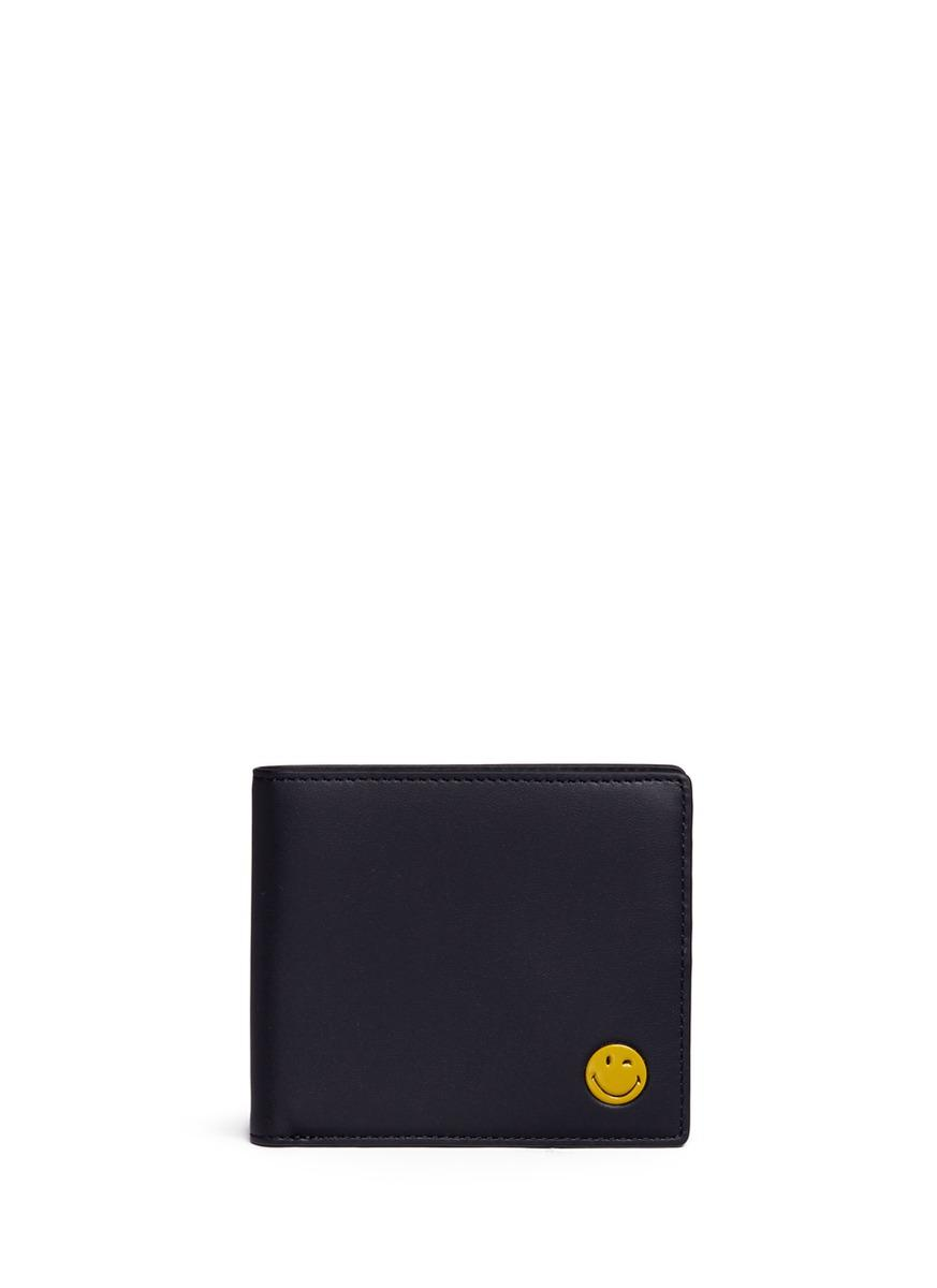 Anya Hindmarch 'wink' Embossed Leather Bifold Wallet