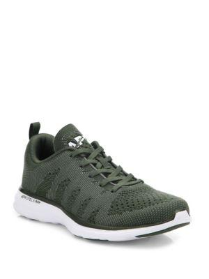 Apl Athletic Propulsion Labs Techloom Pro Cashmere Sneakers In Fatigue