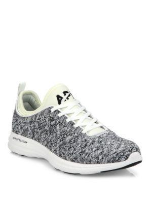 Apl Athletic Propulsion Labs Techloom Phantom Mesh Sneakers In Grey