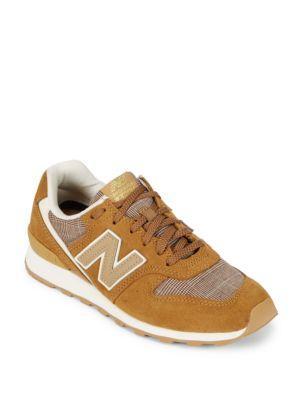 New Balance Glen Check Pack Low-top Sneakers In Beige