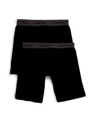 Calvin Klein Basic Boxer Shorts Set In Black