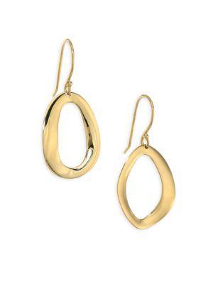Ippolita Cherish Small 18k Yellow Gold Drop Earrings