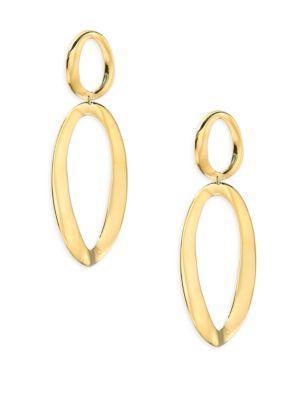 Ippolita Cherish 18k Yellow Gold Drop Earrings