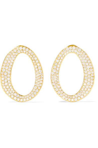 Ippolita Cherish Diamond & 18k Yellow Gold Small Link Earrings