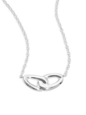 Ippolita Cherish Interlocking Necklace In Silver