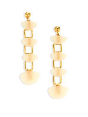 Lele Sadoughi Shell Drop Earrings