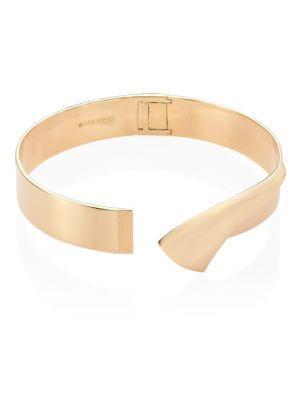 Eddie Borgo Double Fold Collar Necklace In Gold
