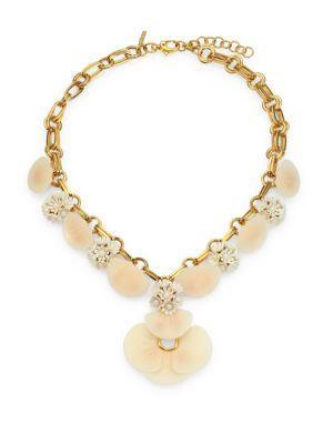Lele Sadoughi Island Shell Necklace