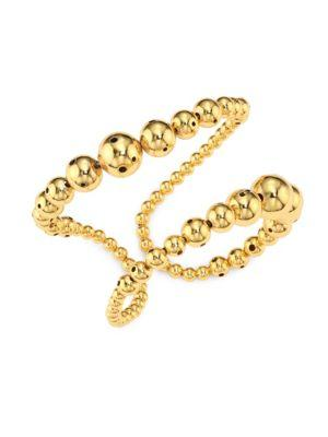 Paula Mendoza Prins Double-row Bracelet In Gold