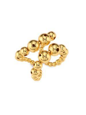 Paula Mendoza Prins Double-row Ring In Gold