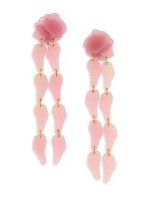 Lele Sadoughi Wisteria Drop Earrings In Pink
