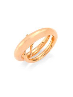 Charlotte Chesnais Unchained Ring/rose Goldtone