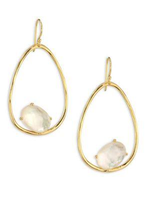 Ippolita Rock Candy® Mother-of-pearl Doublet & 18k Yellow Gold Oval Earrings