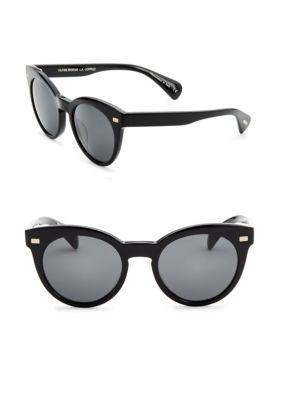Oliver Peoples Dore Acetate Cat-eye Sunglasses In Black Pattern