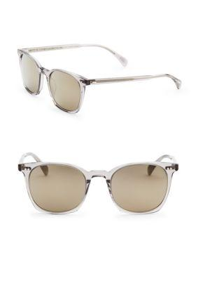 Oliver Peoples L.a Coen  49mm  Square Sunglasses In Grey