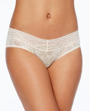 Calvin Klein Bare Lace Hipster Qd3597 In Ivory