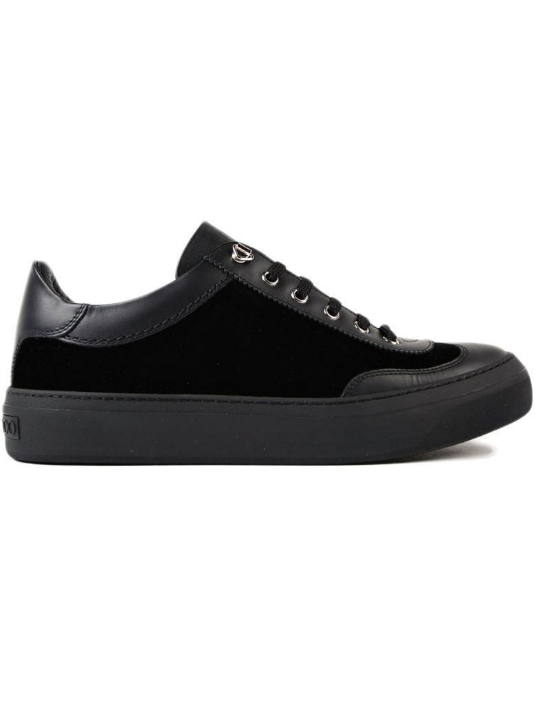 Jimmy Choo Ace Sneakers In Black