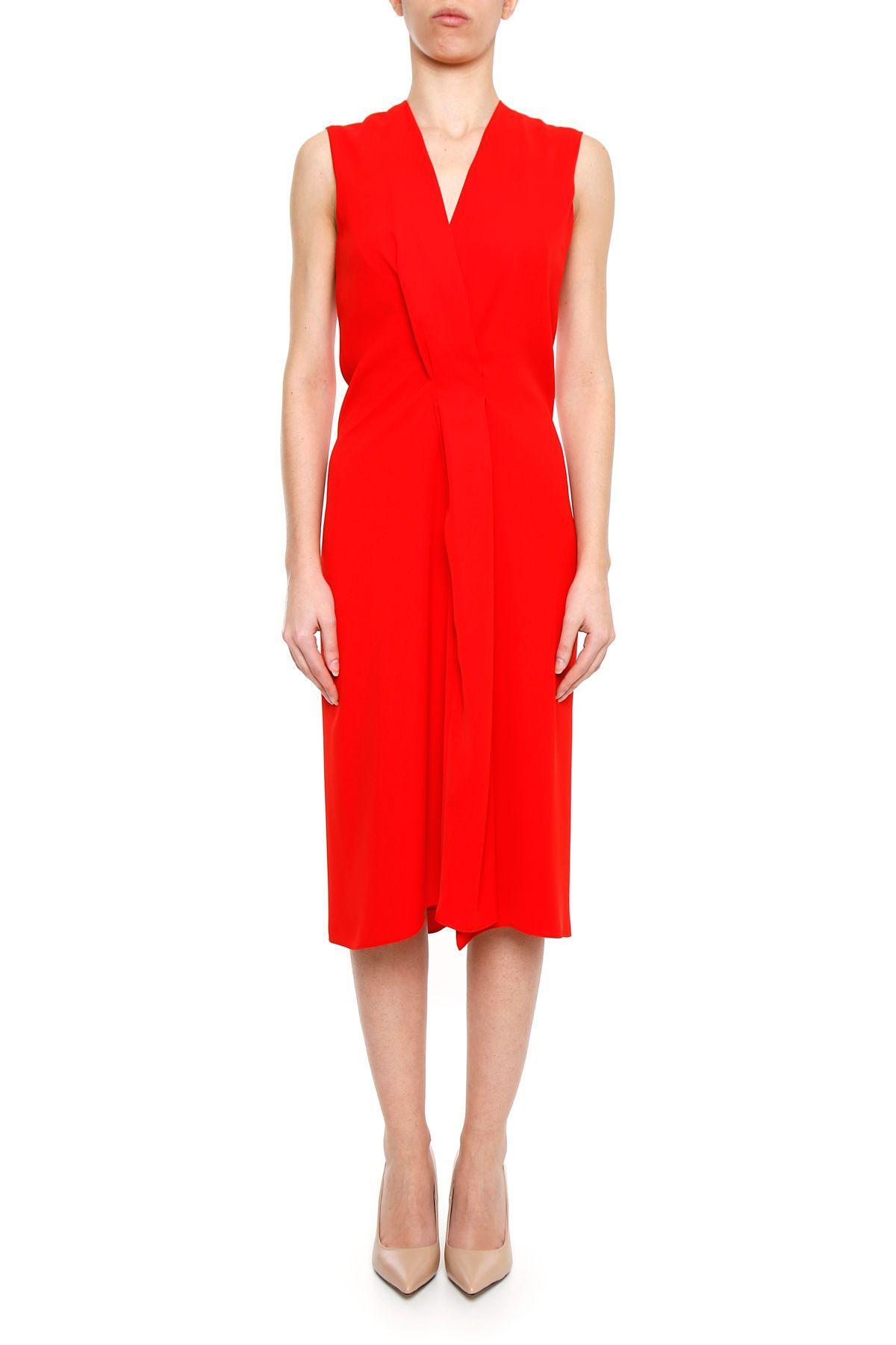 Maison Margiela Dress In Poppy