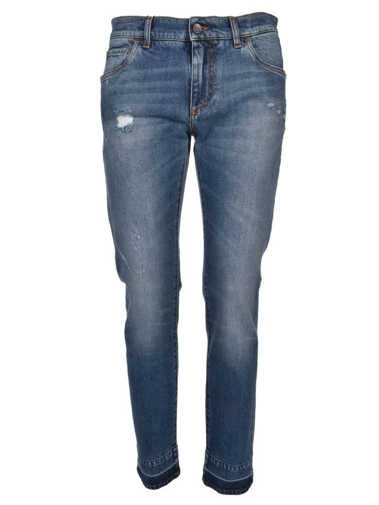 Dolce & Gabbana Bootcut Jeans In Azzurro