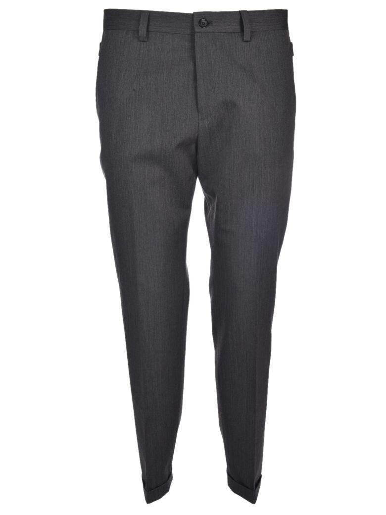 Dolce & Gabbana Tailored Trousers In Grigio