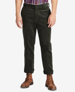 Polo Ralph Lauren Newport Classic Fit Corduroy Pants In Caper Green