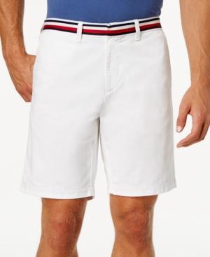 "Tommy Hilfiger Men's Lex 9"" Shorts In White"
